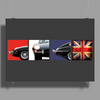 British Icon - The E-Type Poster Print (Landscape)