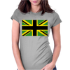 British Jamaican Womens Fitted T-Shirt