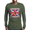 British Music- Written With Blood Mens Long Sleeve T-Shirt