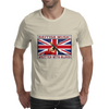British Music Written With Blood Mens T-Shirt