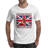 British Music- Written With Blood Mens T-Shirt