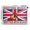 British Music Written With Blood Tablet (horizontal)