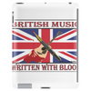 British Music Written With Blood Tablet (vertical)