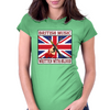 British Music- Written With Blood Womens Fitted T-Shirt