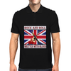 British Rock And Roll - Written in Blood Mens Polo