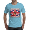 British Rock And Roll - Written in Blood Mens T-Shirt