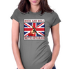 British Rock And Roll - Written in Blood Womens Fitted T-Shirt