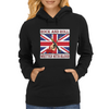 British Rock And Roll - Written in Blood Womens Hoodie