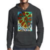 Broken Heart Poison Tears Mens Hoodie