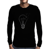 Broken Light and Birds Mens Long Sleeve T-Shirt