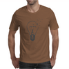 Broken Light and Birds Mens T-Shirt