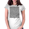 Broken Womens Fitted T-Shirt