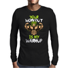 broly's gym Mens Long Sleeve T-Shirt