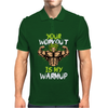 broly's gym Mens Polo