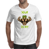 broly's gym Mens T-Shirt