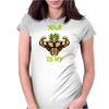 broly's gym Womens Fitted T-Shirt