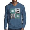 Bromine Barium (Br Ba) Walter White and Jesse logo Mens Hoodie