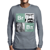Bromine Barium (Br Ba) Walter White and Jesse logo Mens Long Sleeve T-Shirt