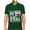 Bromine Barium (Br Ba) Walter White and Jesse logo Mens Polo