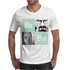 Bromine Barium (Br Ba) Walter White and Jesse logo Mens T-Shirt
