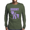 Brony Mens Long Sleeve T-Shirt