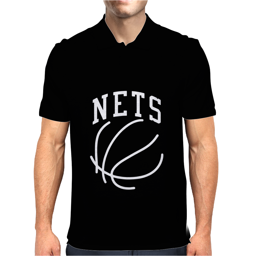 Brooklyn Nets Mens Polo