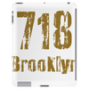 Brooklyn, NY USA  area code 718 Tablet (vertical)