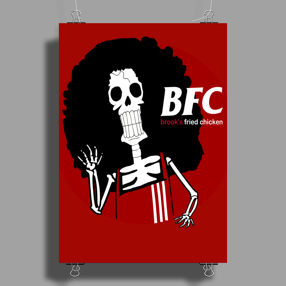 Brook's Fried Chicken Poster Print (Portrait)
