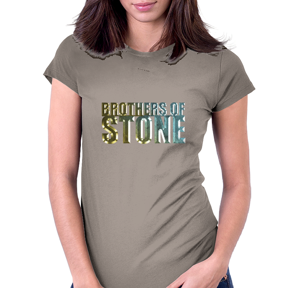 Brothers of Stone Womens Fitted T-Shirt