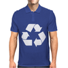 Brown Ink Recycle Mens Polo
