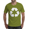 Brown Ink Recycle Mens T-Shirt