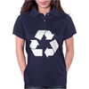Brown Ink Recycle Womens Polo