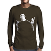 Bruce Lee Portrait Poster Mens Long Sleeve T-Shirt