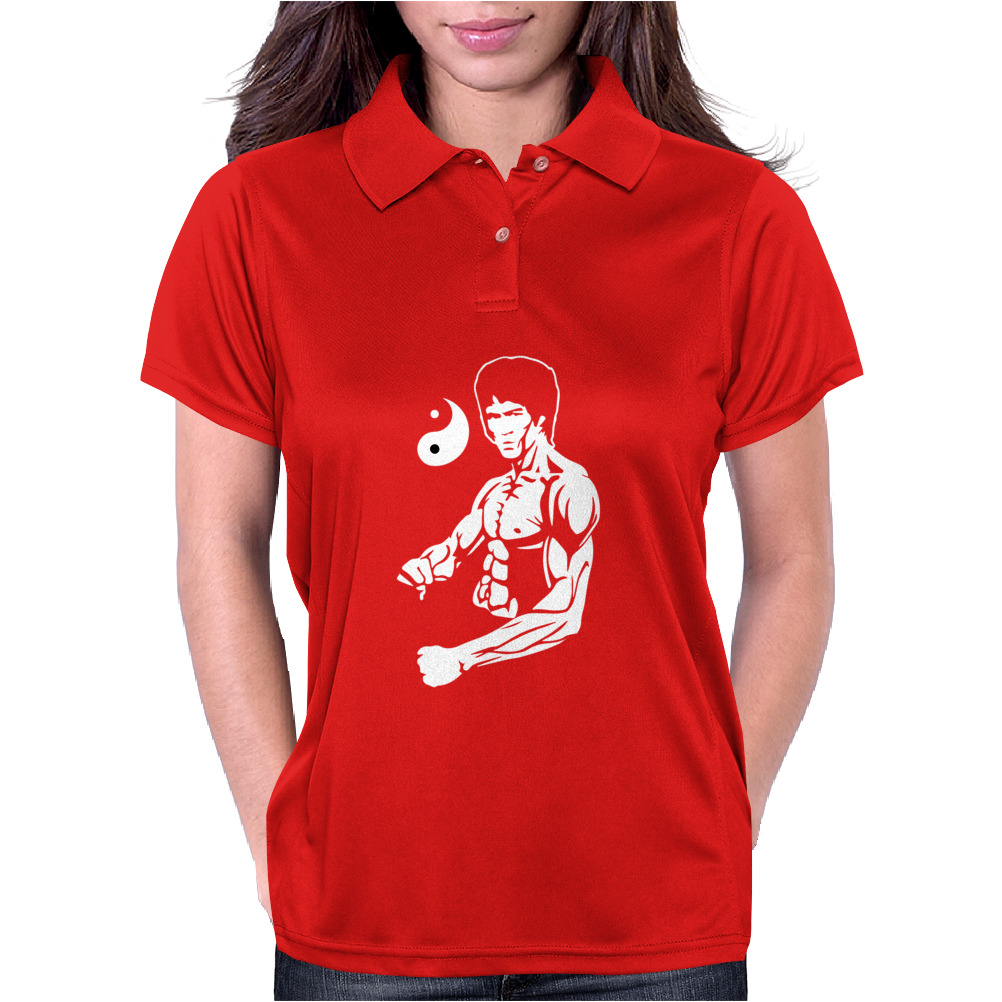 Bruce Lee Womens Polo