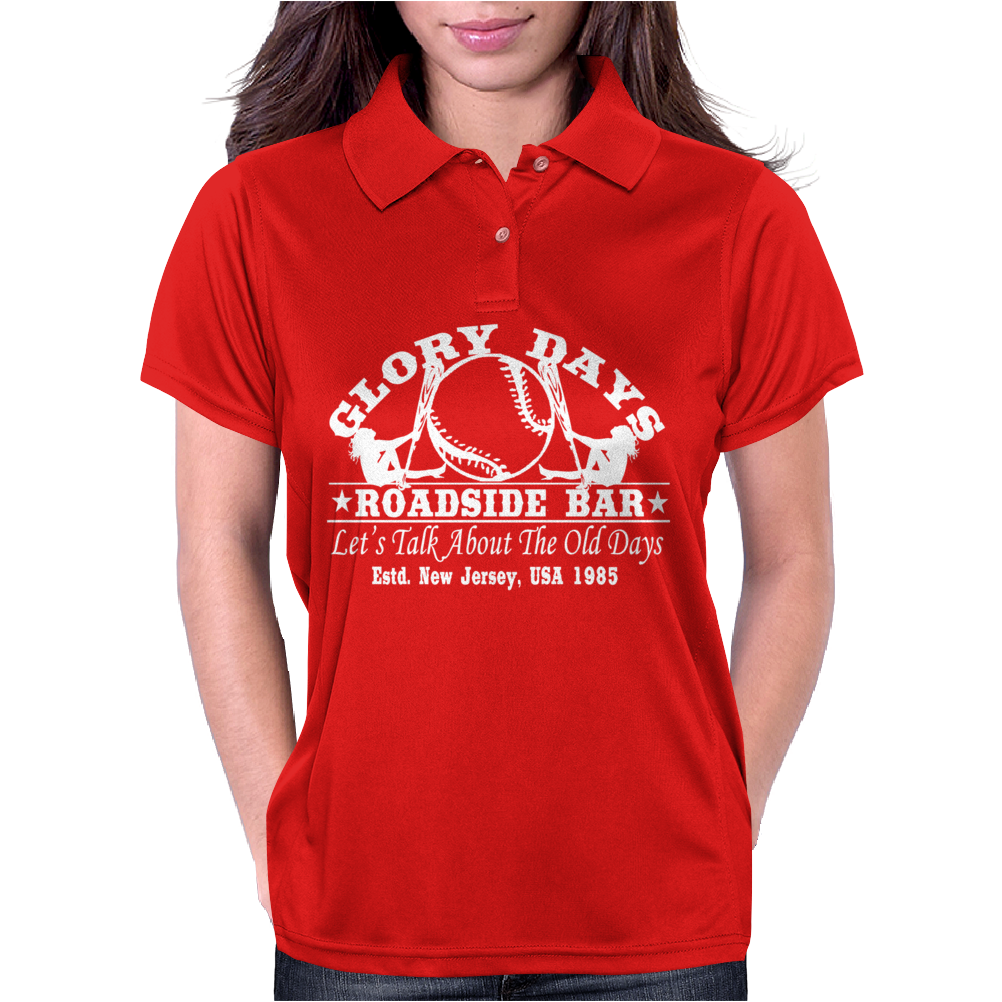 Bruce Springsteen Inspired Womens Polo