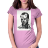 Bruce Willis  Illustration Womens Fitted T-Shirt