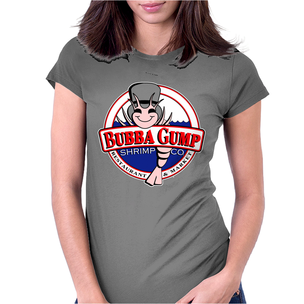 Bubba Gump Shimp Circular Womens Fitted T-Shirt