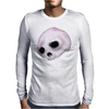 Bubblegum Pink by Rouble Rust Mens Long Sleeve T-Shirt