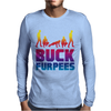 Buck Furpees Burpees WOD Workout Fitness Exercise Funny - Copy - Copy Mens Long Sleeve T-Shirt