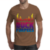 Buck Furpees Burpees WOD Workout Fitness Exercise Funny - Copy - Copy Mens T-Shirt