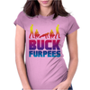 Buck Furpees Burpees WOD Workout Fitness Exercise Funny - Copy - Copy Womens Fitted T-Shirt