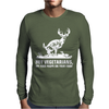 Buck Wear Food Poops Mens Long Sleeve T-Shirt