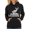 Buck Wear Food Poops Womens Hoodie