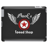 Buck's Speedshop Tablet (horizontal)