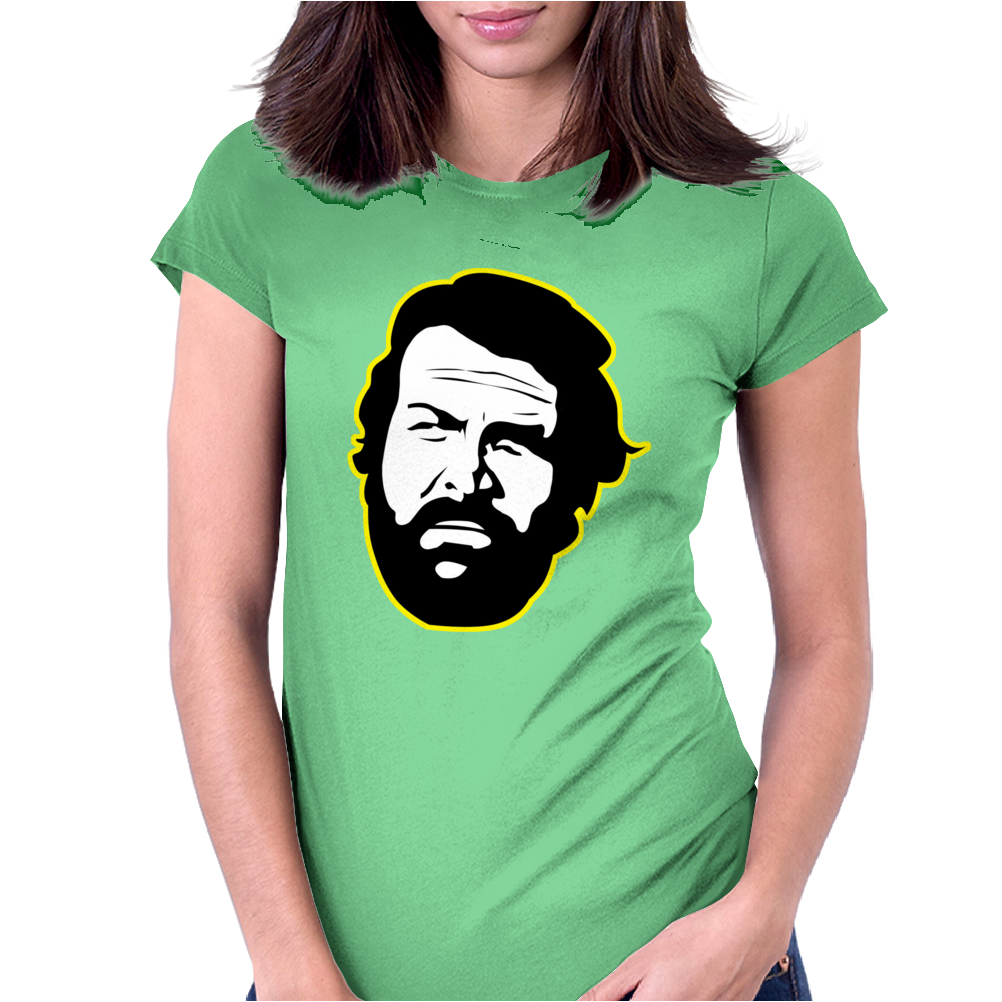 Bud Spencer Womens Fitted T-Shirt