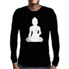 BUDDHA Mens Long Sleeve T-Shirt