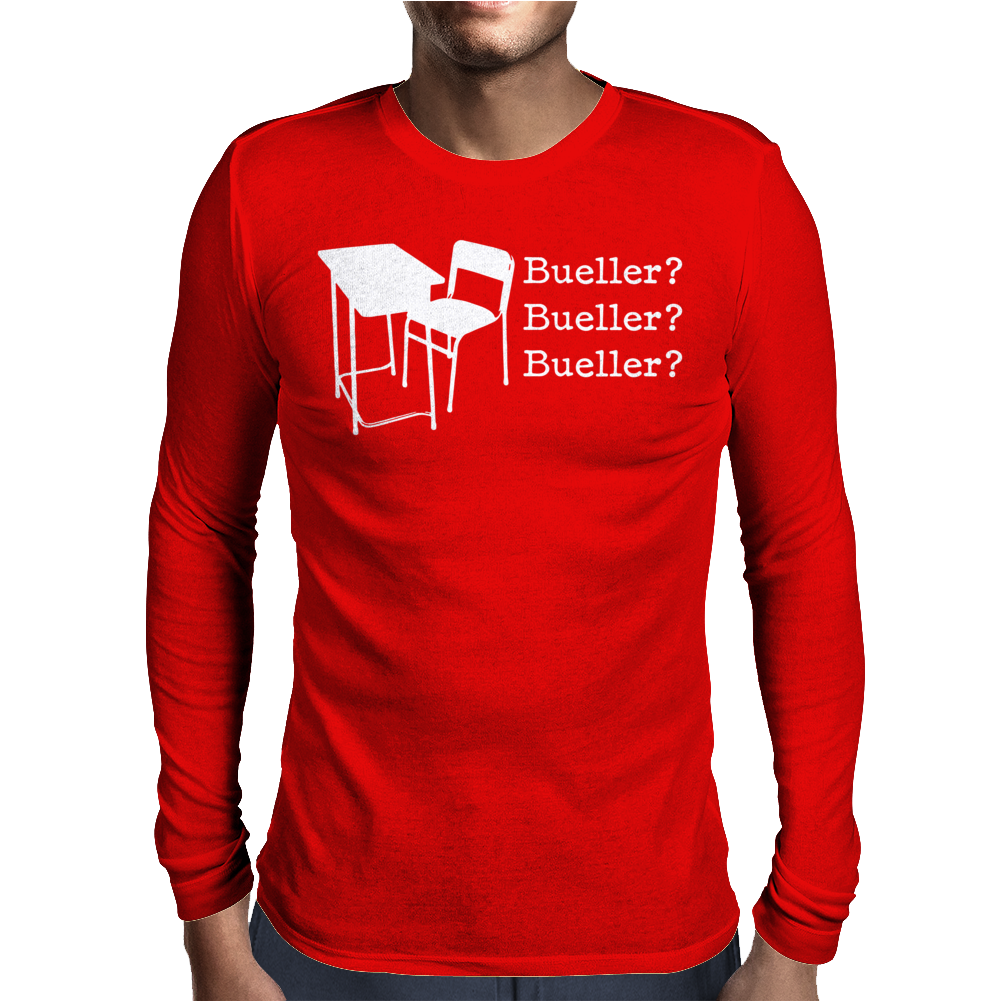 Bueller Mens Long Sleeve T-Shirt