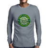 Buff Lizard Mascot Mens Long Sleeve T-Shirt