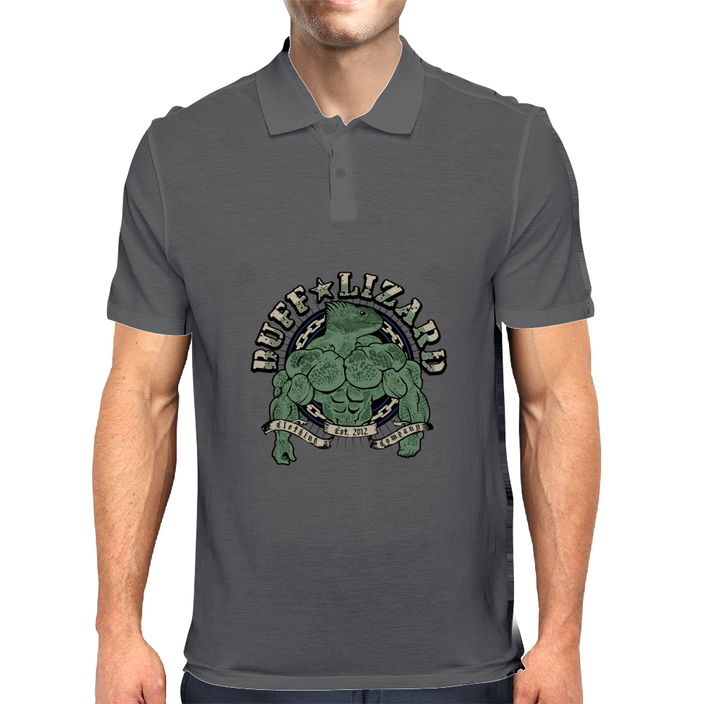 Buff Lizard Original Mens Polo