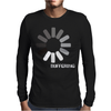 Buffering  Funny retro loading computer console fashion party Mens Long Sleeve T-Shirt
